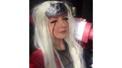Naruto_ Chica saca el lado más femenino de Jiraiya con este cosplay