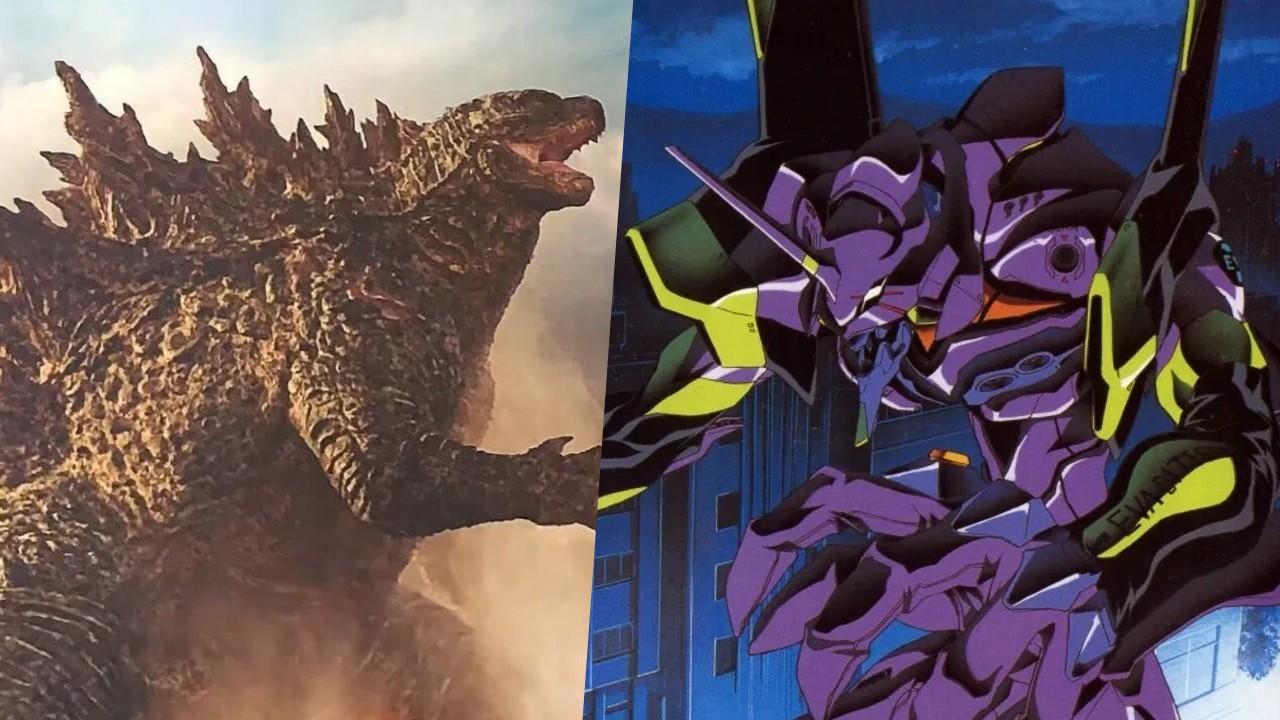Evangelion y Godzilla realizan un crossover en una increible figura