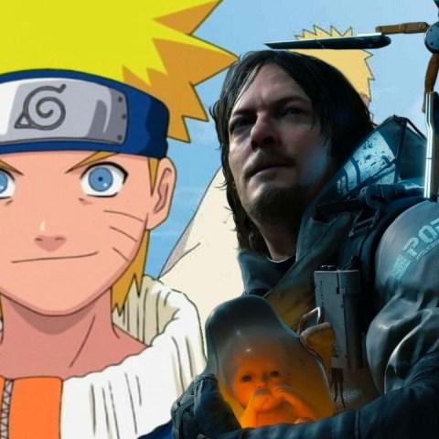 Naruto Death Stranding fanart