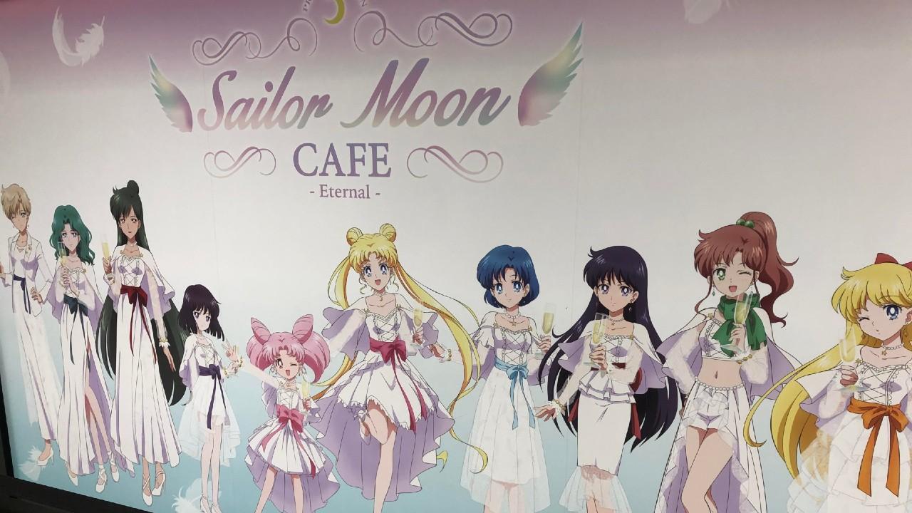 Sailor Moon Cafetería