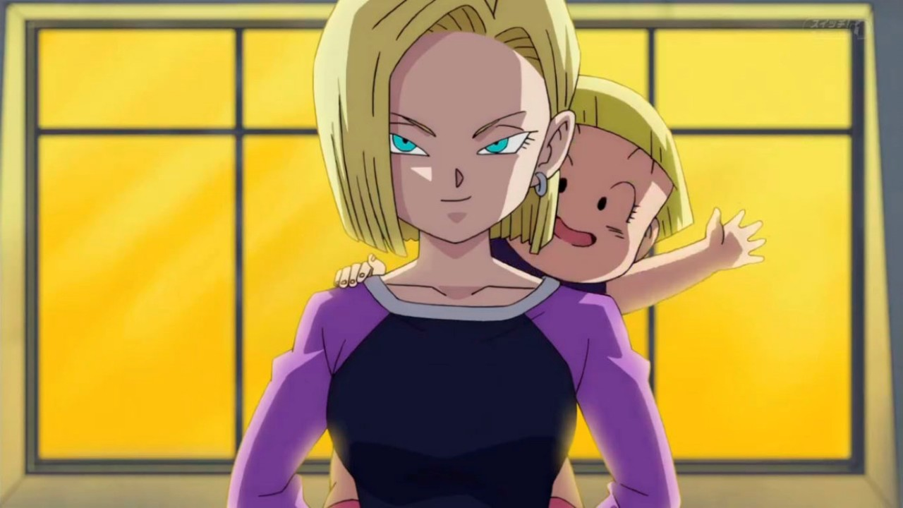Dragon Ball Super Androide 18 Cosplay