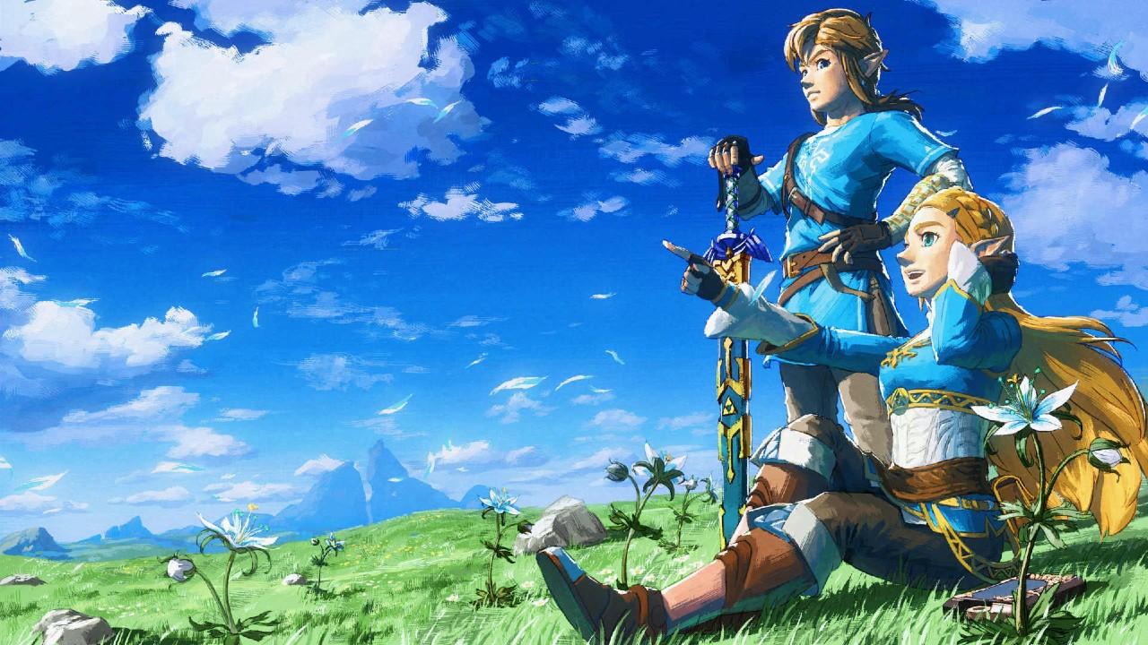 Nintendo Zelda Mario Animación