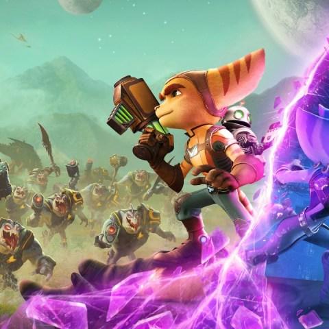 ratchet clank rift apart reseña ps5 videojuego sony wallpaper