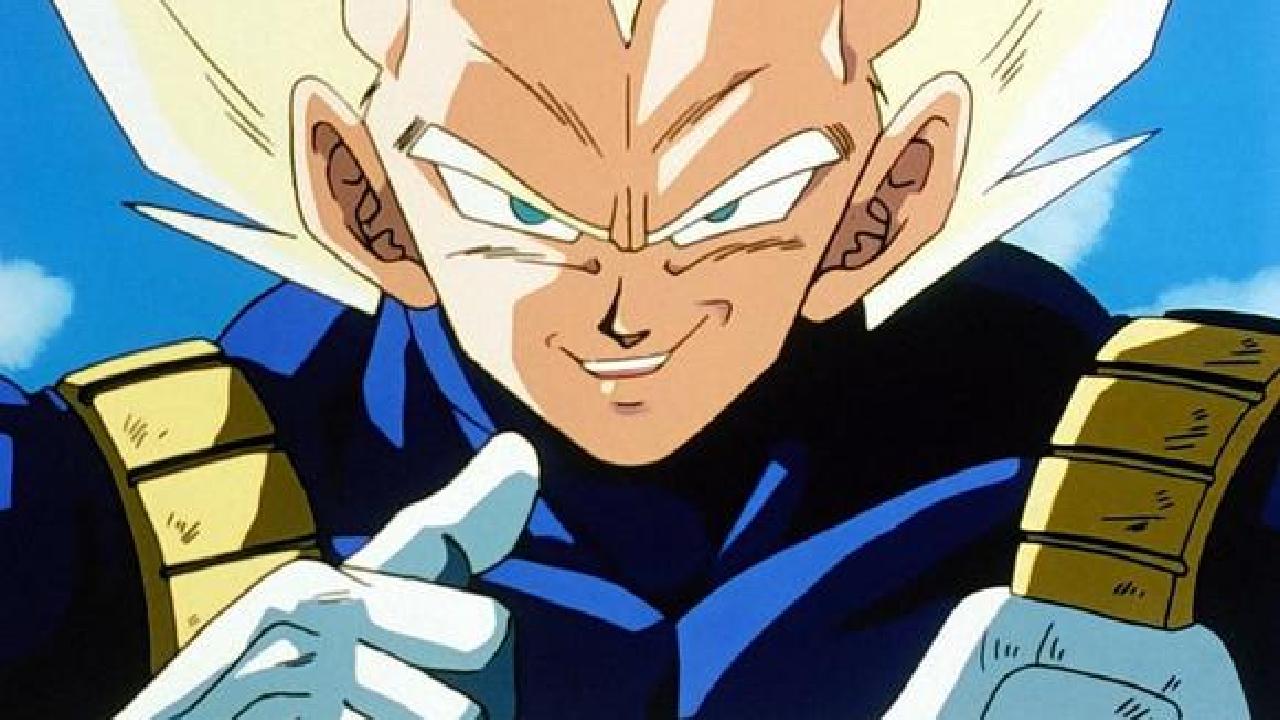 Dragon Ball anime manga Vegeta SS2