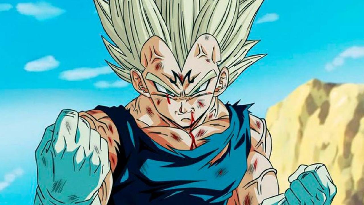 Dragon Ball anime manga Vegeta Majin