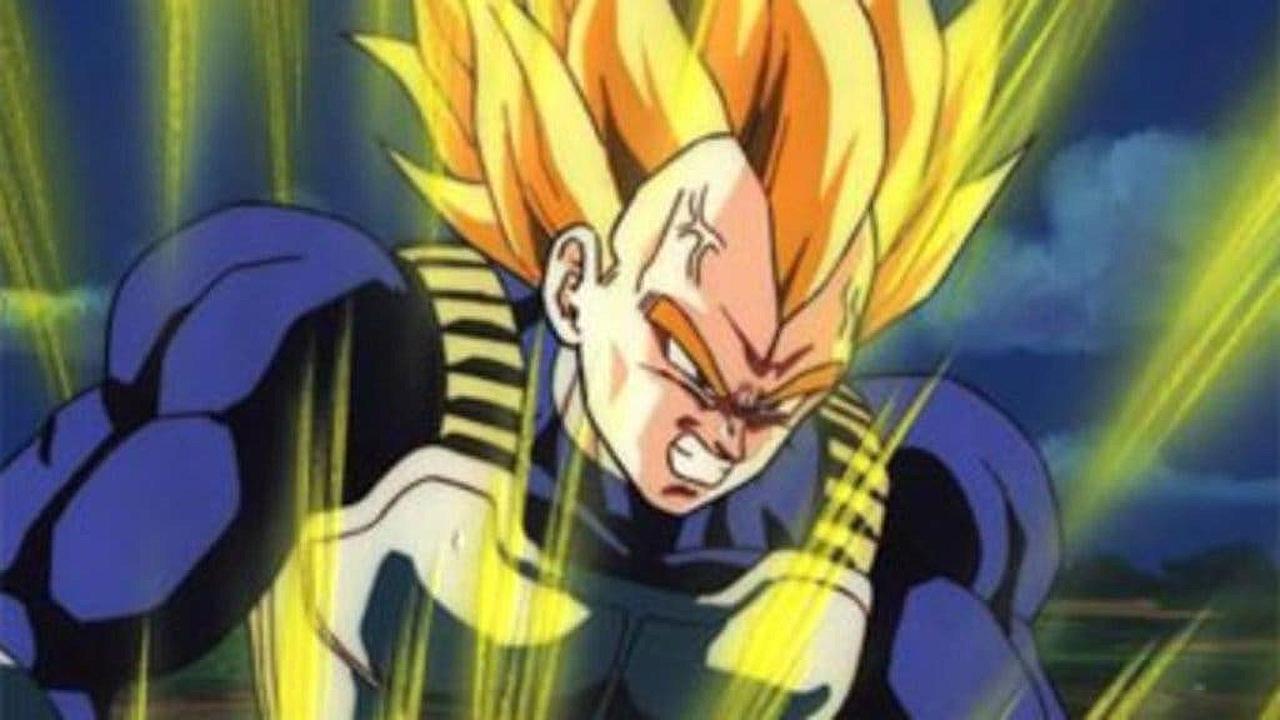 Vegeta transformaciones SS1 segundo grado Dragon Ball anime