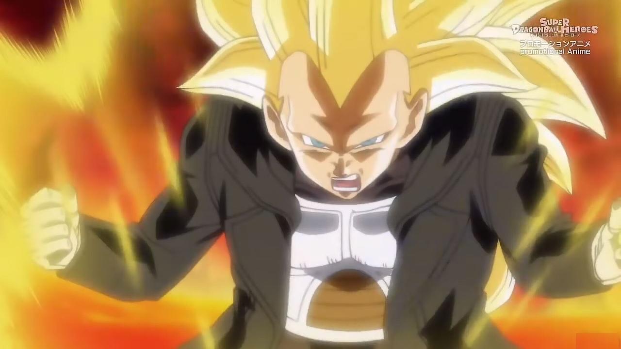 Vegeta SS3 Dragon Ball anime y manga