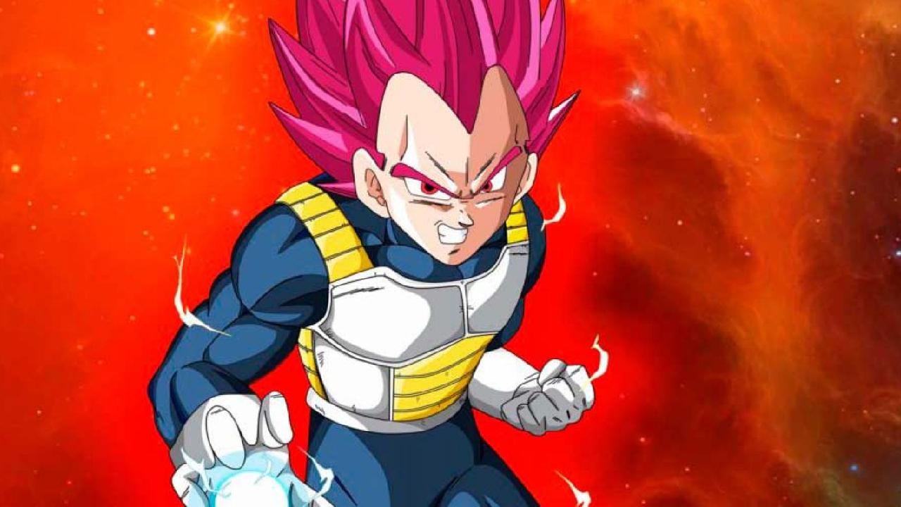 SSG Vegeta Dragon Ball anime transformaciones