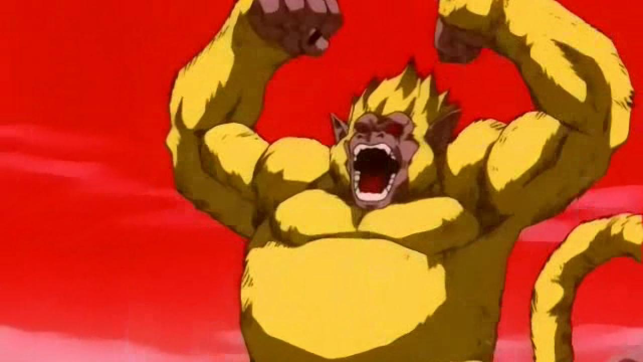 Vegeta Golden Oozaru Dragon Ball anime GT