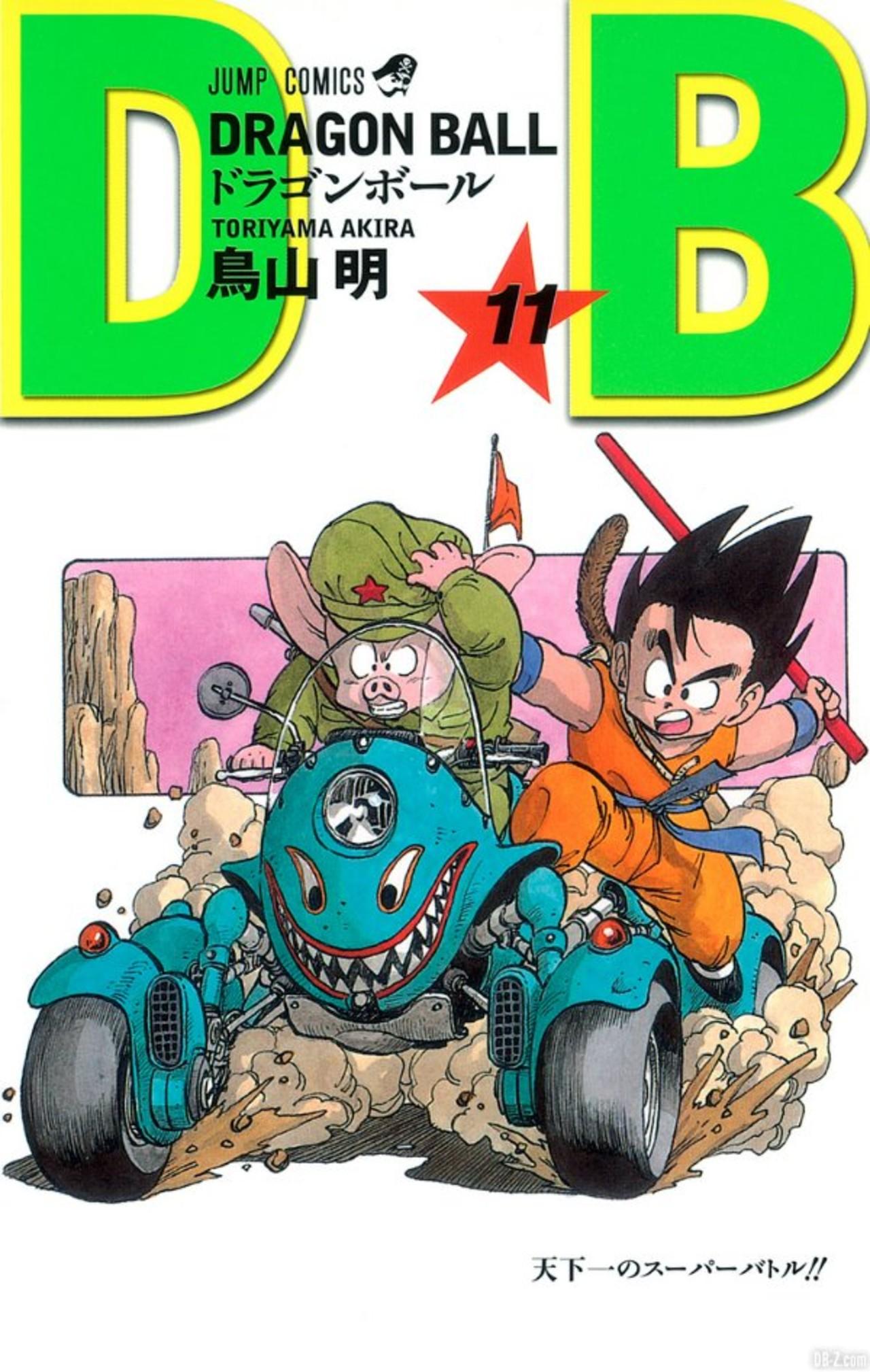 Goku de niño Dragon Ball manga Naruto