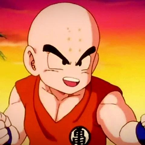 Krilin diseño Dragon Ball Super Super Hero
