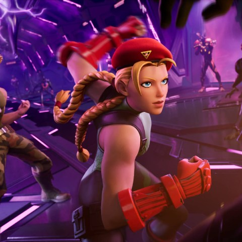 Cammy Guile Street Fighter Fortnite Epic Games