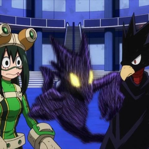 Tsuyu x Tokoyami My Hero Academia