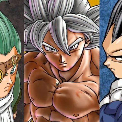 Dragon Ball Super manga Vegeta Goku Granola