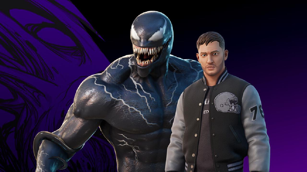 Eddie Brock Venom skin Fortnite Tom Hardy