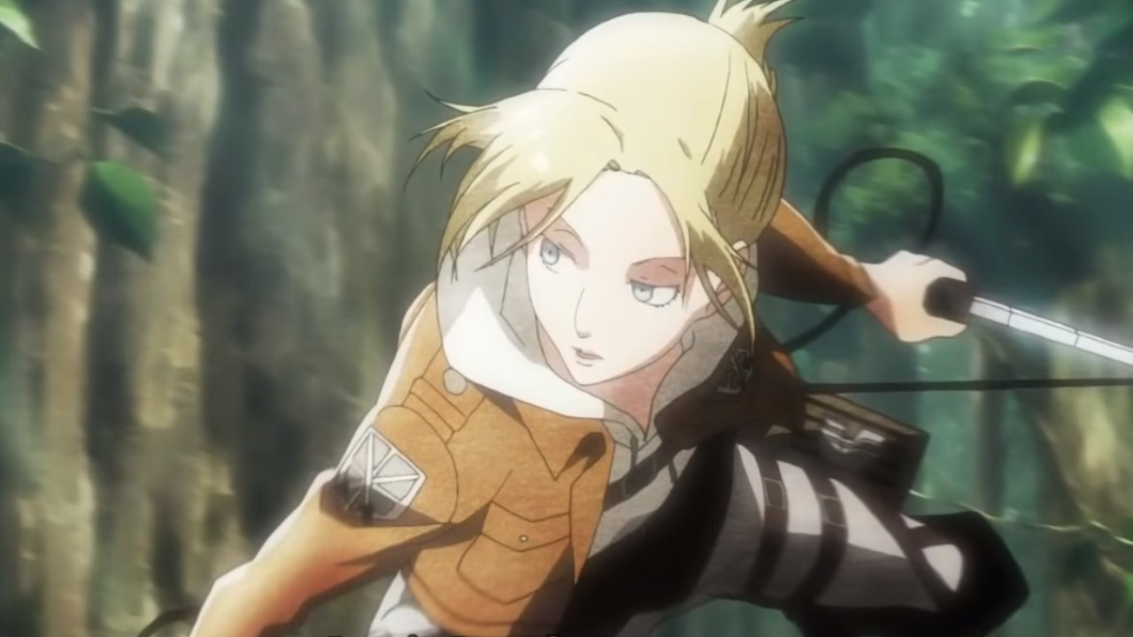 Attack on Titan top reclutas - Annie