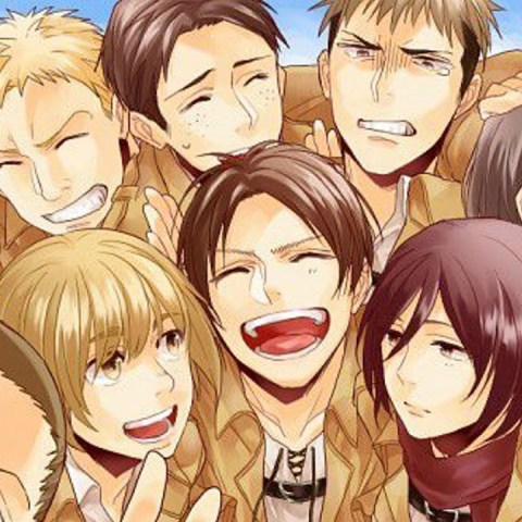 Personajes de Attack on Titan reclutas 104