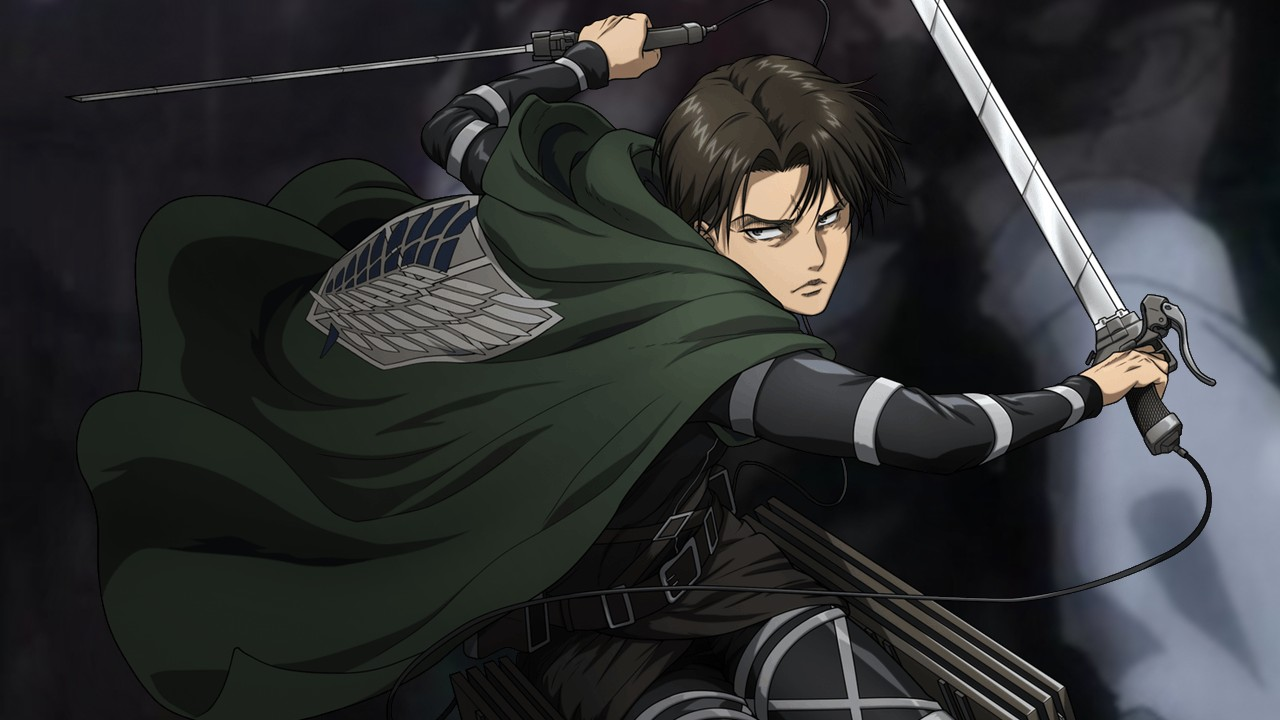 Levi en Attack on Titan The Final Season part 2