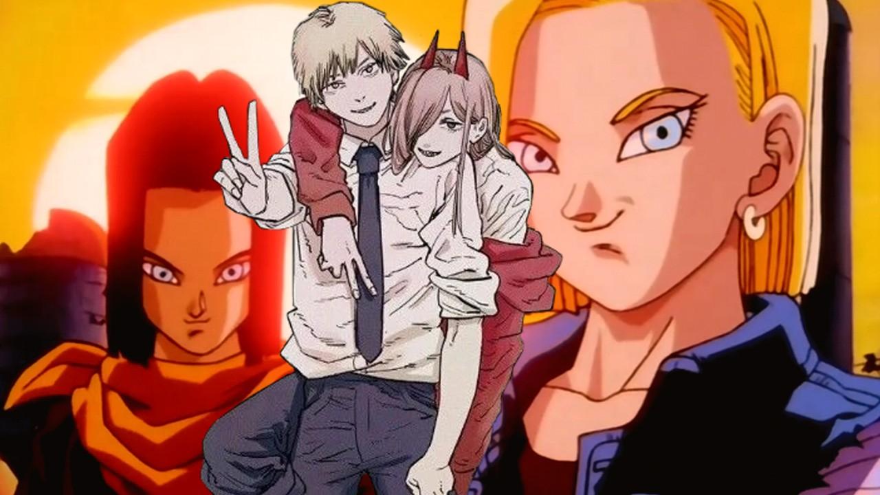 Chainsaw Man Anime Dragon Ball Fanart Androide Denji
