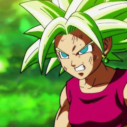 fanart Dragon Ball Super Saiyajin Blue Kefla