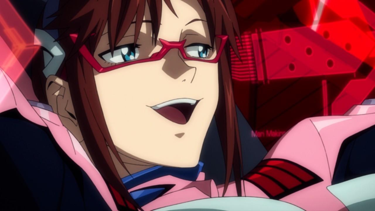 Evangelion Anime Mari Misato