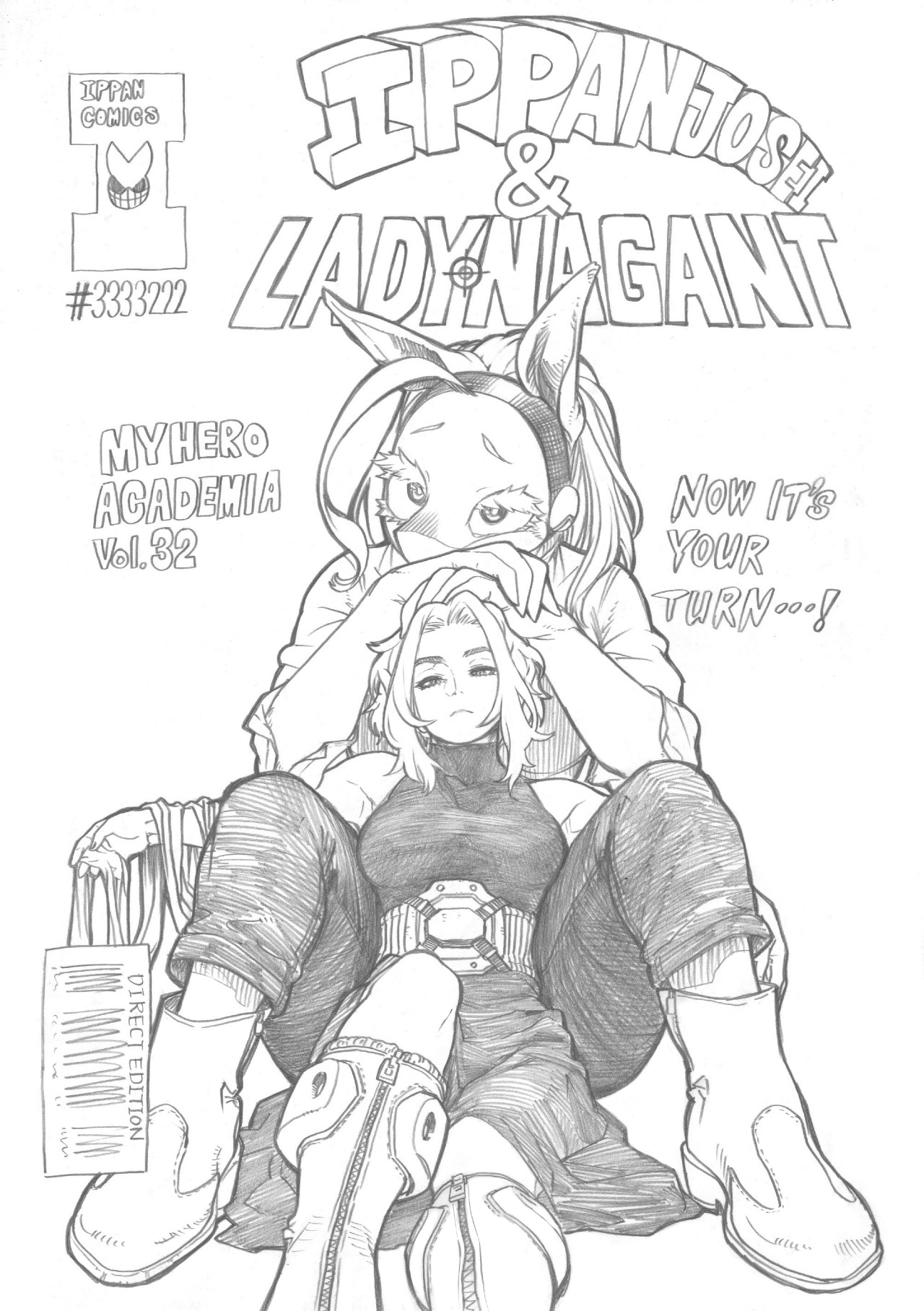 sketch My Hero Academia Lady Nagant
