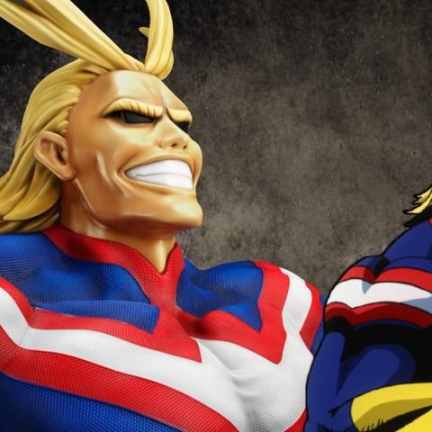 All Might My Hero Academia figura coleccionable busto