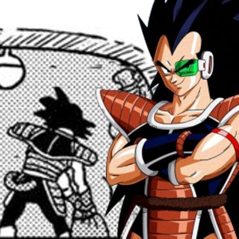 Aparición de Raditz en Dragon Ball Super Manga