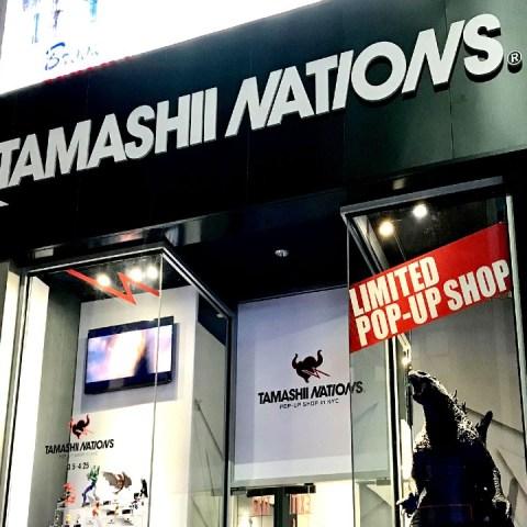 Tamashii Nations Pop Up México
