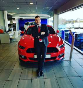 Borja Fernandez - Ford focus ST-Line 1.0 Ecoboost 125 CV