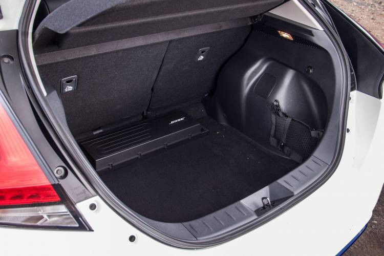 maletero - Nissan Leaf con ProPilot
