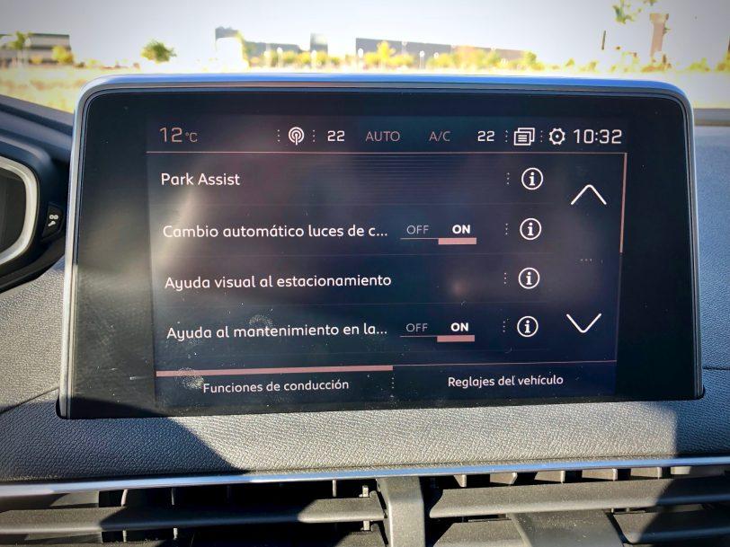 Asistentes de aparcamiento - Peugeot 5008 GT Line 1.5 BlueHDI 130 CV
