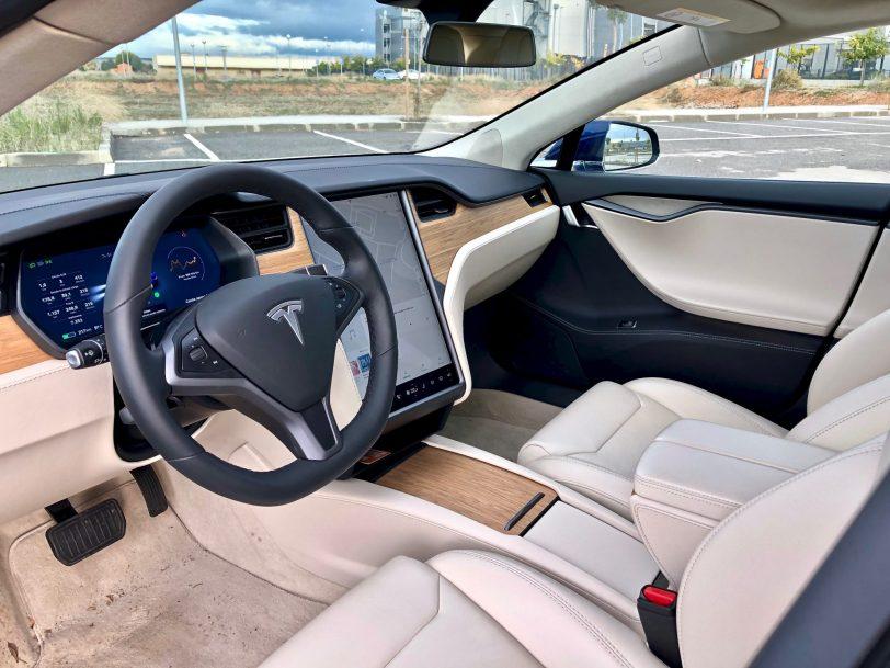 Portada Interior - Tesla Model S 100D y nuestro viaje de 1.000 km