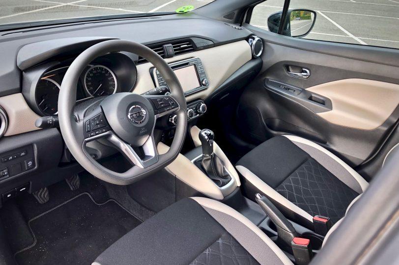 Salpicadero 1140x760 - Nissan Micra 2017 – 2018 Acenta 0.9 IG-T 90 CV