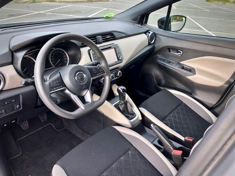 Salpicadero - Nissan Micra 2017 – 2018 Acenta 0.9 IG-T 90 CV