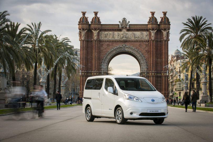 Comportamiento e nv200 evalia - Nissan e-NV200 7 plazas 40 kWh de capacidad
