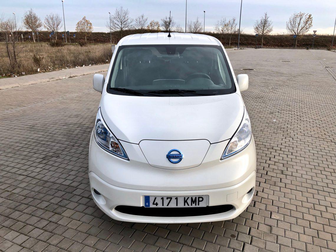 Frontal e NV200 evalia 1140x855 - Nissan e-NV200 7 plazas 40 kWh de capacidad