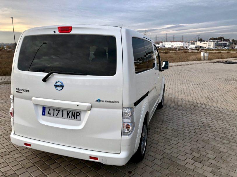 Trasera lateral e nv200 - Nissan e-NV200 7 plazas 40 kWh de capacidad