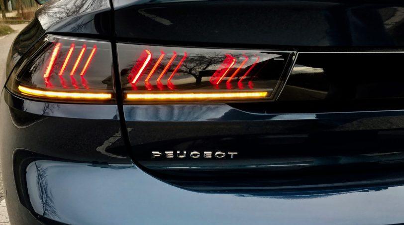Piloto trasero izquierdo Peugeot 508 GT 1 - Peugeot 508 GT: Viene para quedarse
