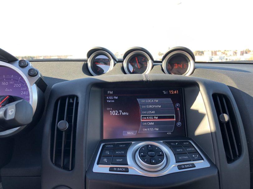Sistema de info entretenimiento 370z - Nissan 370z GT roadster con 328 CV y cambio manual