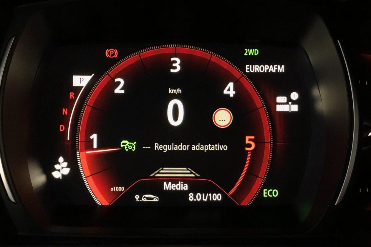 Cuadro de instrumentos Renault Koleos 1260x840 - Renault Koleos: Completamente renovado