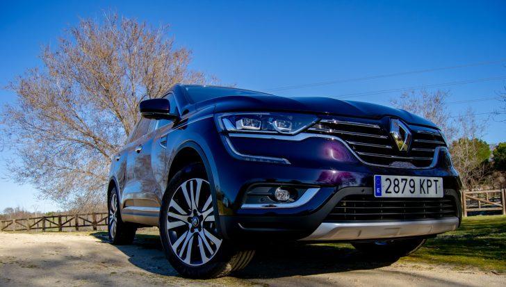 Frontal derecho Renault Koleos - Renault Koleos: Completamente renovado