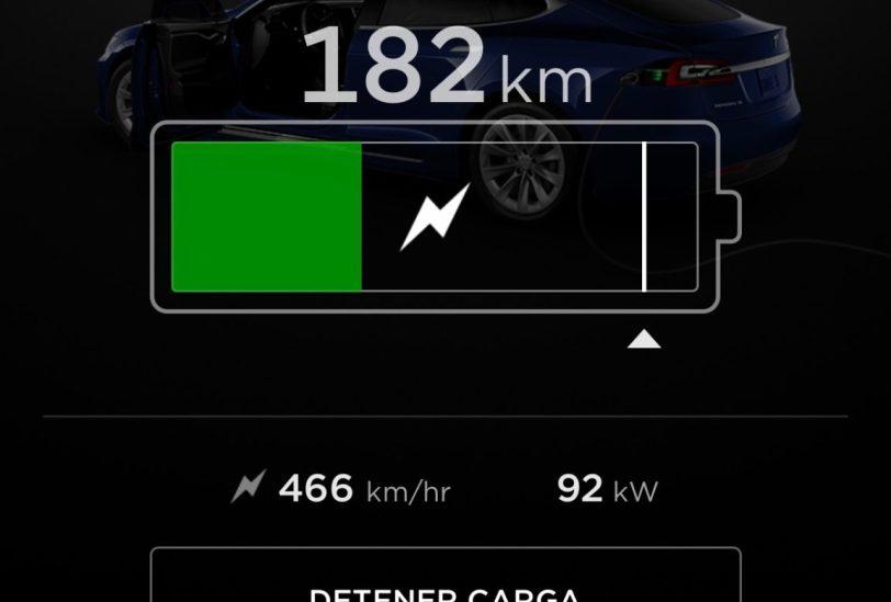 Movil 4 1242x840 - Tesla Model S 100D y nuestro viaje de 1.000 km