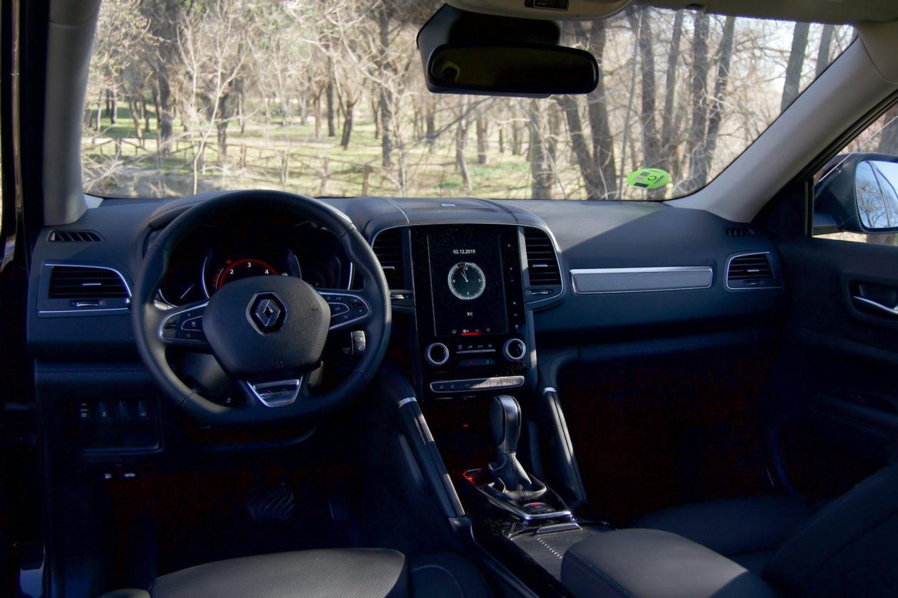 Salpicadero Renault Koleos 1260x840 - Renault Koleos: Completamente renovado