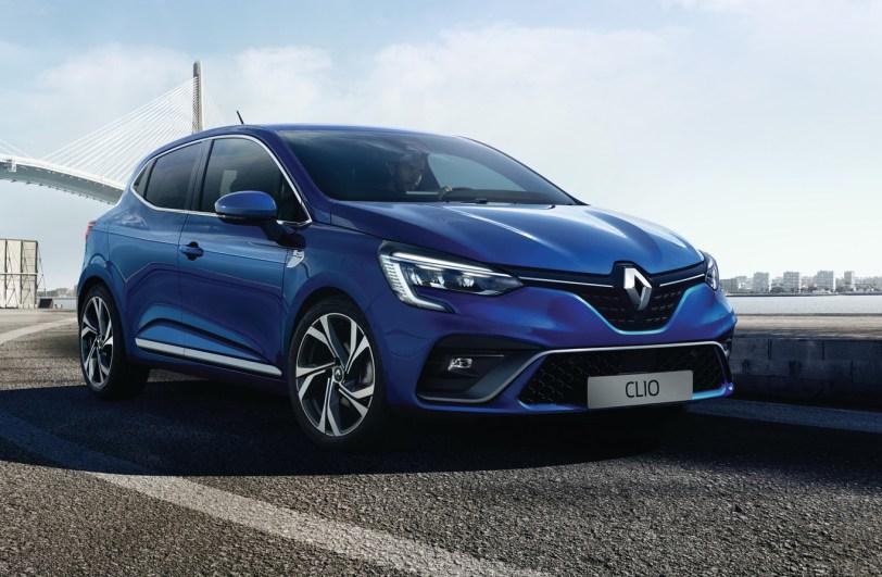 Frontal derecho Renault Clio 2019 - Renault Clio 2019: un nuevo diseño, más calidad y tecnología, y ahora también con opción híbrida