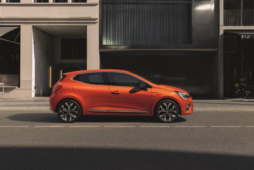 Laterla derecho Renault Clio 2019 - Renault Clio 2019: un nuevo diseño, más calidad y tecnología, y ahora también con opción híbrida