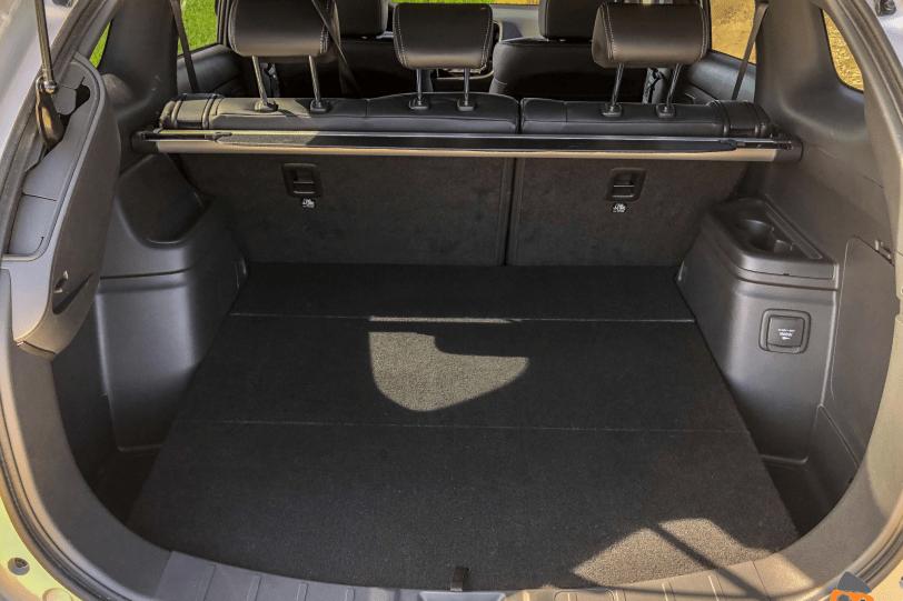 Maletero 5 plazas Mitsubishi Outlander PHEV 1260x840 - Mitsubishi Outlander PHEV 2019: ¿El mejor SUV híbrido enchufable? con etiqueta CERO ¿Una buena alternativa?