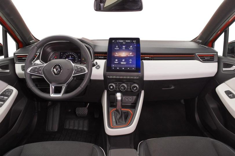 Salpicadero de frente Renault Clio 2019 - Renault Clio 2019: un nuevo diseño, más calidad y tecnología, y ahora también con opción híbrida