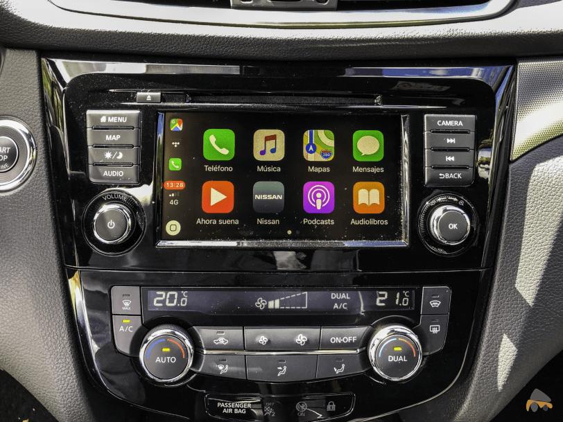 Sistema multimedia Nissan Qashqai - Nissan Qashqai 2019: Ahora con un motor ya visto en Mercedes