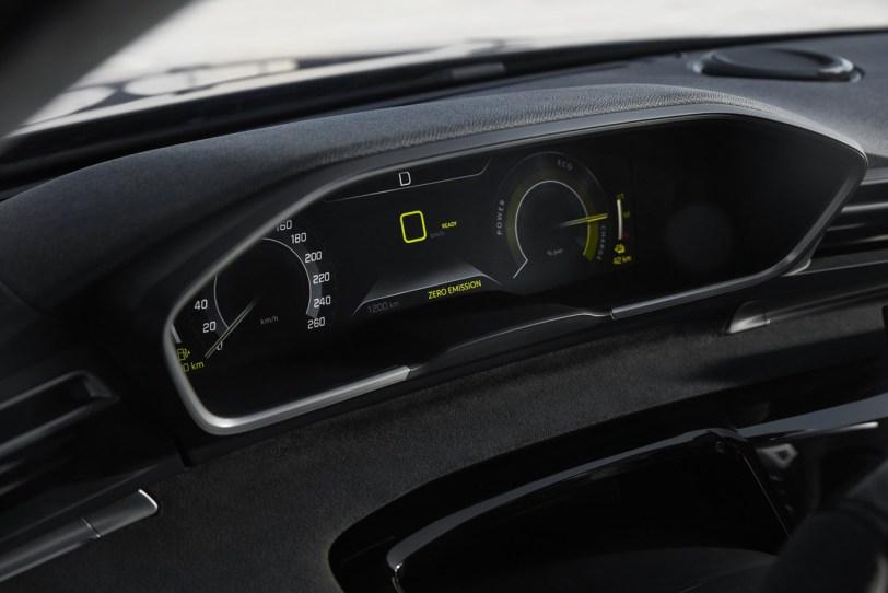 Tacometro Peugeot 508 Sport - ¡Confirmado! El llamativo 508 Peugeot Sport Engineered Concept será un modelo de producción